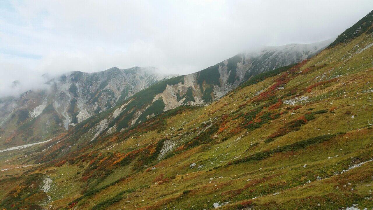 立山アルペンルートの景色