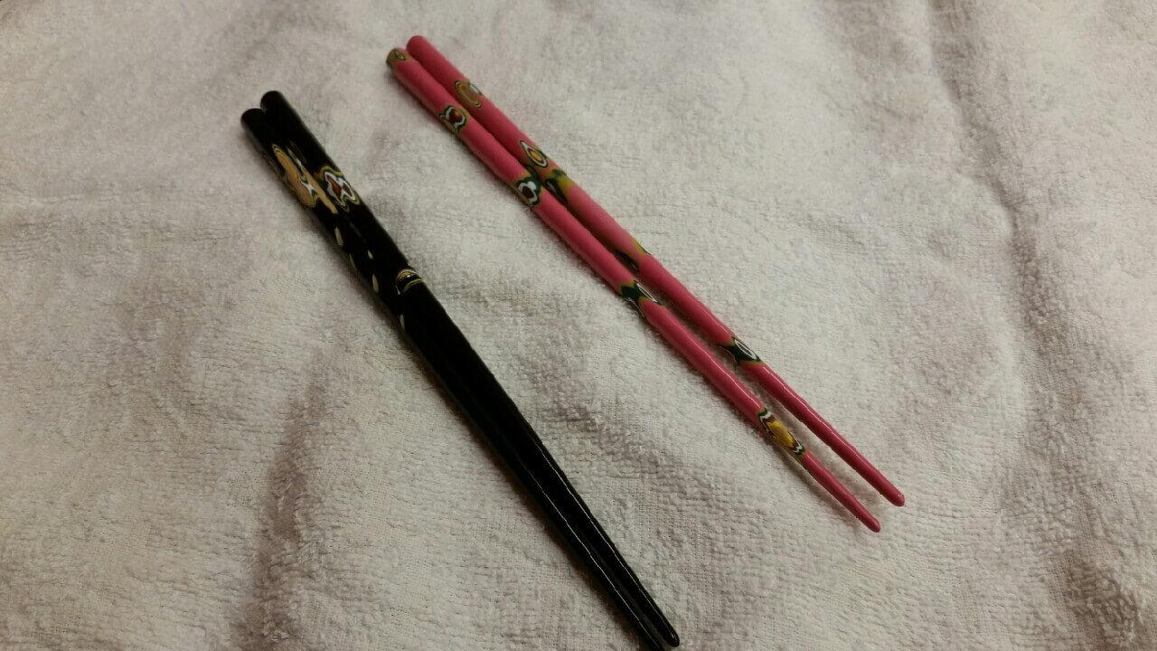 箸匠せいわで作った箸